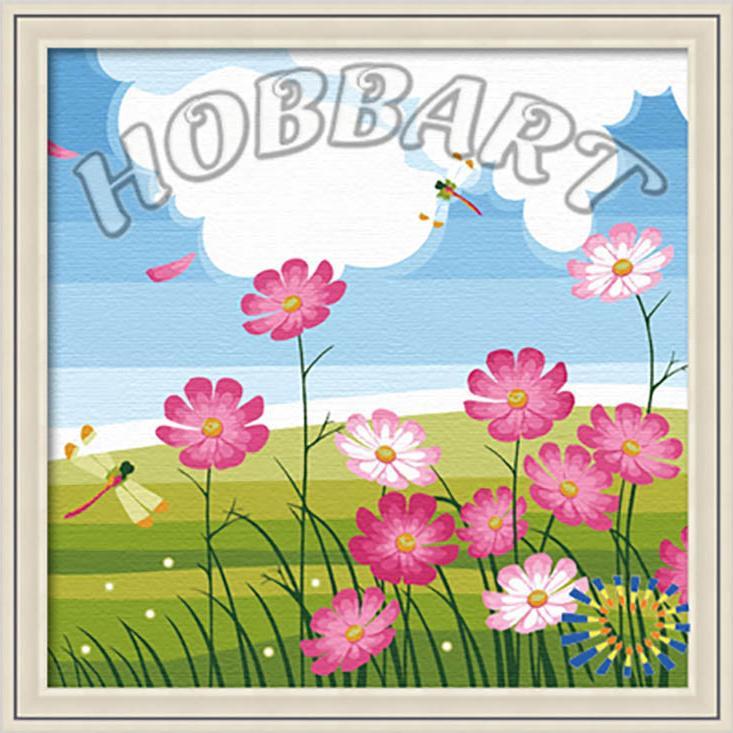 Картина по номерам «Стрекоза»Hobbart<br><br><br>Артикул: HB3030002<br>Основа: Холст<br>Сложность: средние<br>Размер: 30x30 см<br>Количество цветов: 18<br>Техника рисования: Без смешивания красок