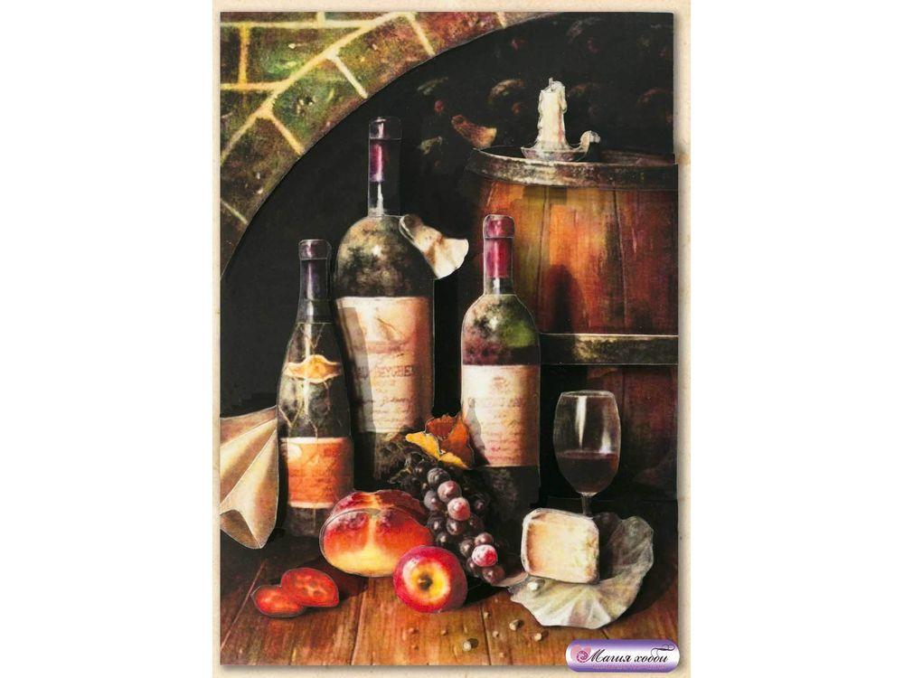 Папертоль «Натюрморт с вином»