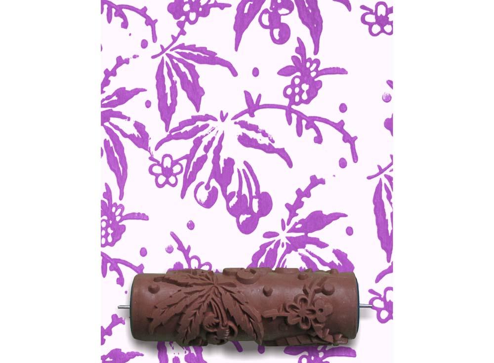 Узорный валик «Китайская вишня»Узорные валики для декора стен<br>Рамка для узорного валика приобретается отдельно!<br> <br> Узорный валик - универсальное приспособление для декорирования практически любой поверхности - от дерева до ткани. Просто использовать и легко ухаживать - красивый узор получится в любом случае, даже ...<br><br>Артикул: GR-02