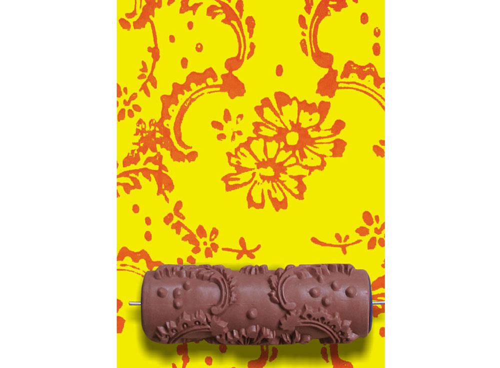 Узорный валик «Космея»Узорные валики для декора стен<br>Рамка для узорного валика приобретается отдельно!<br> <br> Узорный валик - универсальное приспособление для декорирования практически любой поверхности - от дерева до ткани. Просто использовать и легко ухаживать - красивый узор получится в любом случае, даже ес...<br><br>Артикул: GR-05