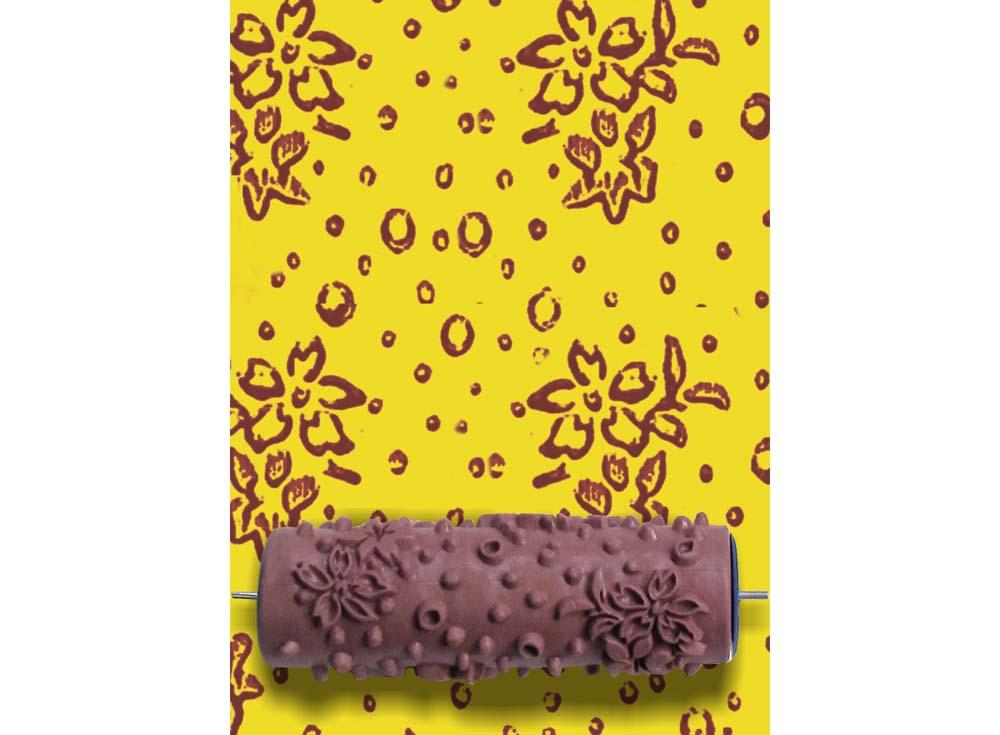 Узорный валик «Турецкая гвоздика»Узорные валики для декора стен<br>Рамка для узорного валика приобретается отдельно!<br> <br> Узорный валик - универсальное приспособление для декорирования практически любой поверхности - от дерева до ткани. Просто использовать и легко ухаживать - красивый узор получится в любом случае, даже ес...<br><br>Артикул: GR-10