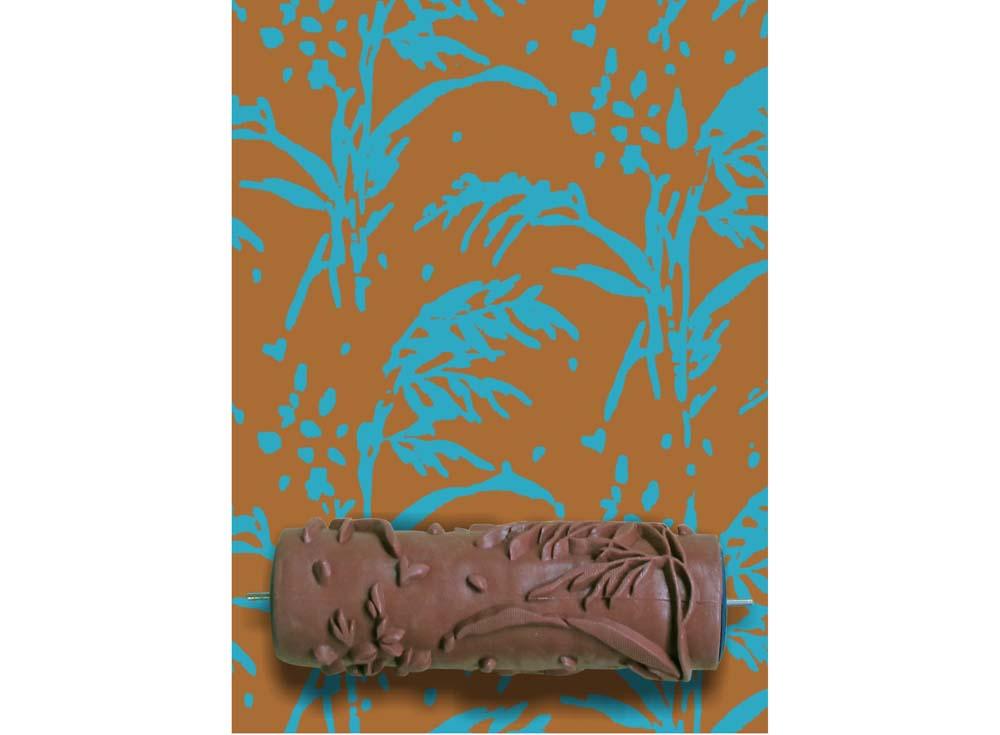 Узорный валик «Степной камыш»Узорные валики для декора стен<br>Рамка для узорного валика приобретается отдельно!<br> <br> Узорный валик - универсальное приспособление для декорирования практически любой поверхности - от дерева до ткани. Просто использовать и легко ухаживать - красивый узор получится в любом случае, даже ес...<br><br>Артикул: GR-11