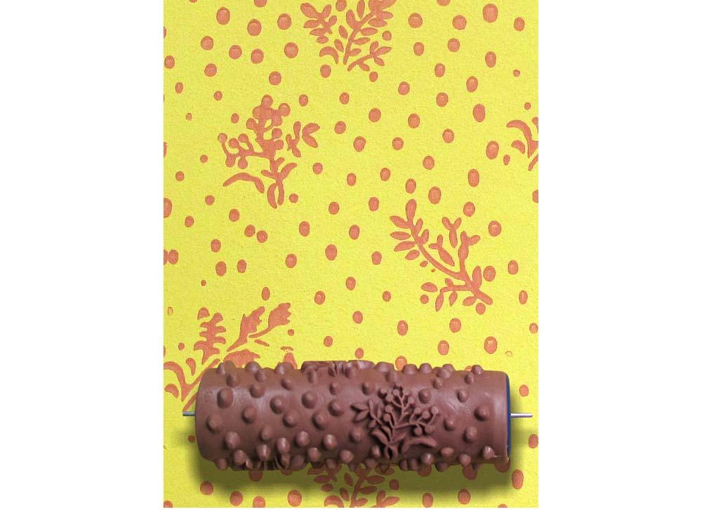 Узорный валик «Верба»Узорные валики для декора стен<br>Рамка для узорного валика приобретается отдельно!<br> <br> Узорный валик - универсальное приспособление для декорирования практически любой поверхности - от дерева до ткани. Просто использовать и легко ухаживать - красивый узор получится в любом случае, даже ес...<br><br>Артикул: GR-13