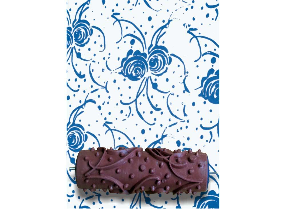 Узорный валик «Розы» 2Узорные валики для декора стен<br>Рамка для узорного валика приобретается отдельно!<br> <br> Узорный валик - универсальное приспособление для декорирования практически любой поверхности - от дерева до ткани. Просто использовать и легко ухаживать - красивый узор получится в любом случае, даже ес...<br><br>Артикул: GR-15