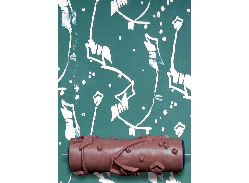 Узорный валик «Фантазия №18»Узорные валики для декора стен<br>Рамка для узорного валика приобретается отдельно!<br> <br> Узорный валик - универсальное приспособление для декорирования практически любой поверхности - от дерева до ткани. Просто использовать и легко ухаживать - красивый узор получится в любом случае, даже ес...<br><br>Артикул: GR-18