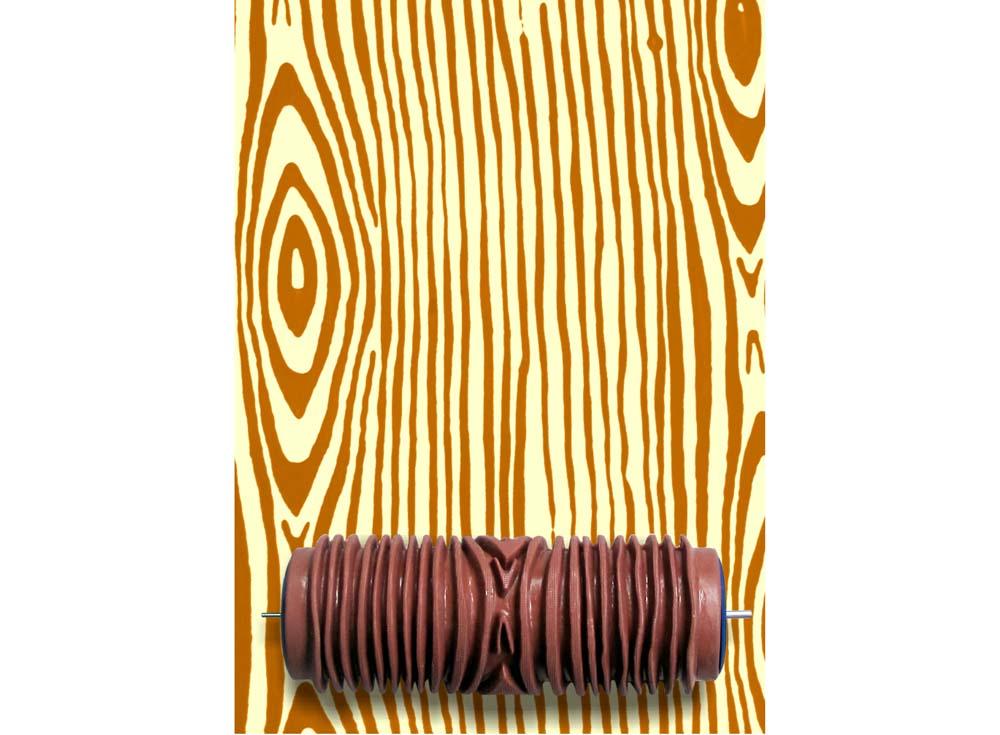 Узорный валик «Древесина»Узорные валики для декора стен<br>Рамка для узорного валика приобретается отдельно!<br> <br> Узорный валик - универсальное приспособление для декорирования практически любой поверхности - от дерева до ткани. Просто использовать и легко ухаживать - красивый узор получится в любом случае, даже ес...<br><br>Артикул: GR-26