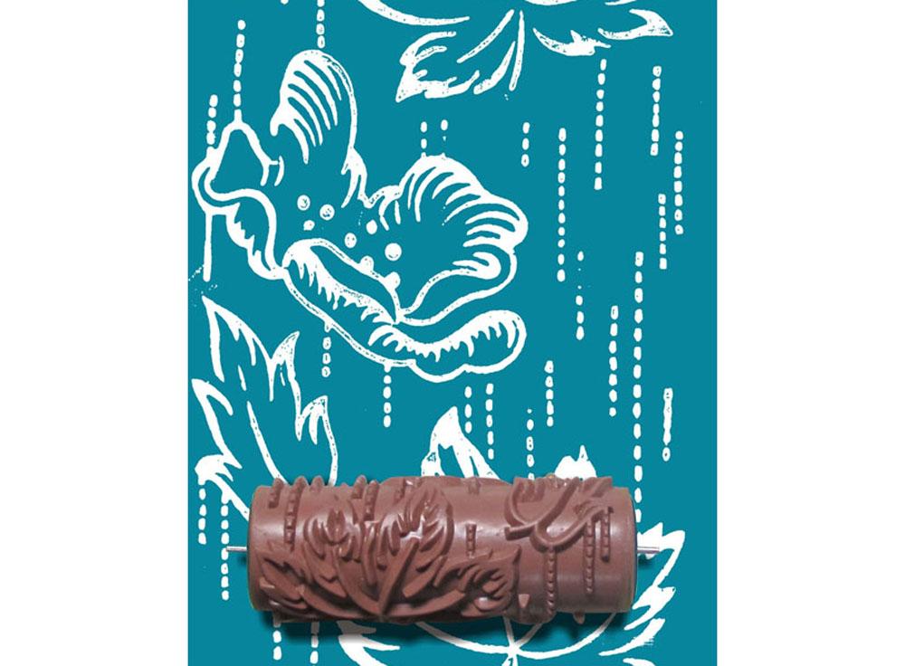 Узорный валик «Цветок под дождём»Узорные валики для декора стен<br>Рамка для узорного валика приобретается отдельно!<br> <br> Узорный валик - универсальное приспособление для декорирования практически любой поверхности - от дерева до ткани. Просто использовать и легко ухаживать - красивый узор получится в любом случае, даже ес...<br><br>Артикул: GR-41