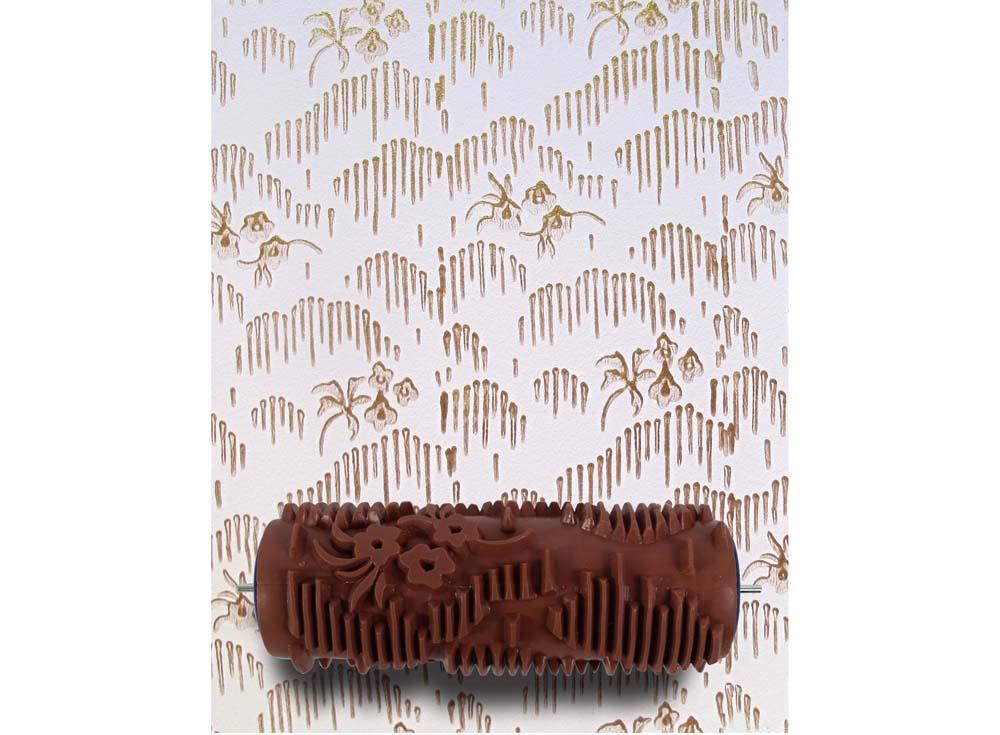 Узорный валик «Лужайка»Узорные валики для декора стен<br>Рамка для узорного валика приобретается отдельно!<br> <br> Узорный валик - универсальное приспособление для декорирования практически любой поверхности - от дерева до ткани. Просто использовать и легко ухаживать - красивый узор получится в любом случае, даже ес...<br><br>Артикул: GR-45