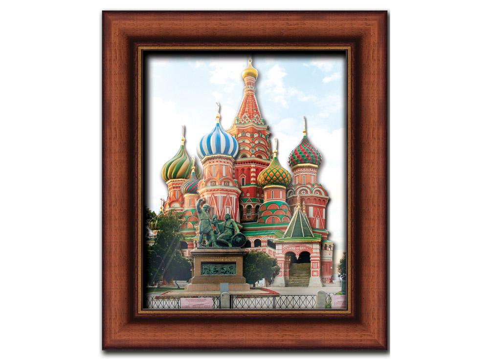 Объемная картина «Собор Василия Блаженного»