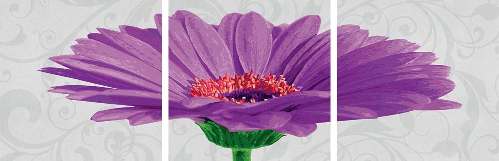 """Картина по номерам «Гербера»Schipper (Шиппер)<br>Производитель наборов картин по номерам """"Schipper"""" - это исключительное качество всех составляющих. Особенностью этого бренда является то, что основа картины - высококачественный картон, покрытие которого имитирует натуральный холст. Краски """"Schipper"""" обл...<br><br>Артикул: 9400683<br>Основа: Картон<br>Сложность: сложные<br>Размер: 3 шт. 40x40 см<br>Количество цветов: 25<br>Техника рисования: Без смешивания красок"""