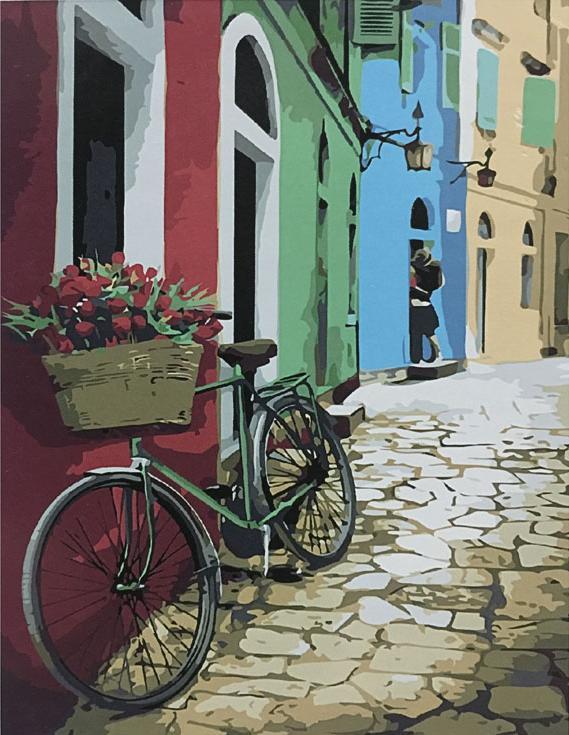 «Разноцветный переулок»Раскраски по номерам Paintboy (Original)<br><br><br>Артикул: GX8240_R<br>Основа: Холст<br>Сложность: сложные<br>Размер: 40x50 см<br>Количество цветов: 25<br>Техника рисования: Без смешивания красок
