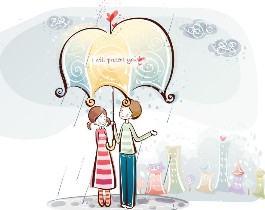 Картина по номерам «Вдвоем под зонтиком»Menglei (Premium)<br><br><br>Артикул: ME002<br>Основа: Холст<br>Сложность: средние<br>Размер: 30x40 см<br>Количество цветов: 23<br>Техника рисования: Без смешивания красок