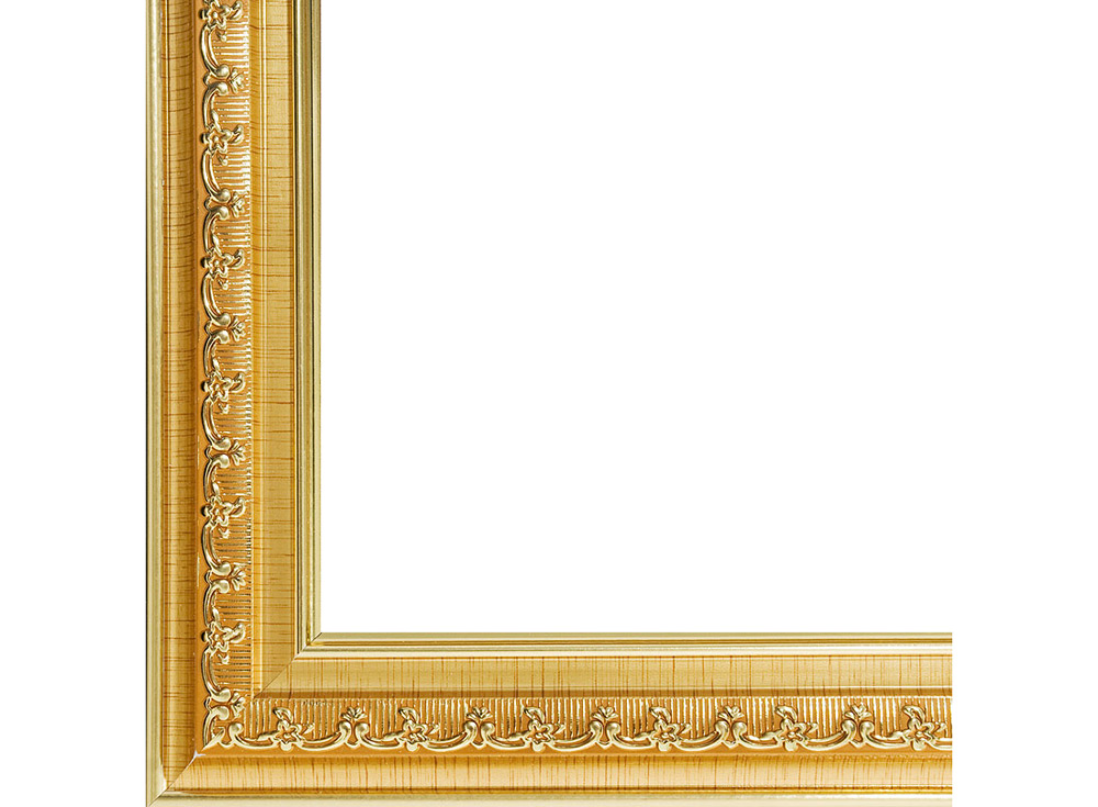 Рамка для картин «Bella»Багетные рамки<br><br><br>Артикул: 1050-BL<br>Размер: 30x40 см<br>Цвет: Золото<br>Материал багета: Пластик