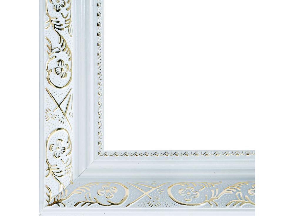Рамка для картин «Flora»Багетные рамки<br><br><br>Артикул: 1081-BL<br>Размер: 30x40 см<br>Цвет: Серебро<br>Материал багета: Пластик