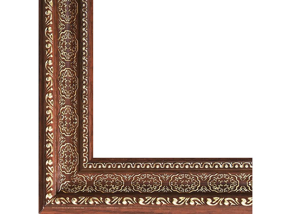 Рамка для картин «Alice»Багетные рамки<br><br><br>Артикул: 1093-BL<br>Размер: 30x40 см<br>Цвет: Коричневый<br>Материал багета: Пластик<br>Глубина багета: 7 мм