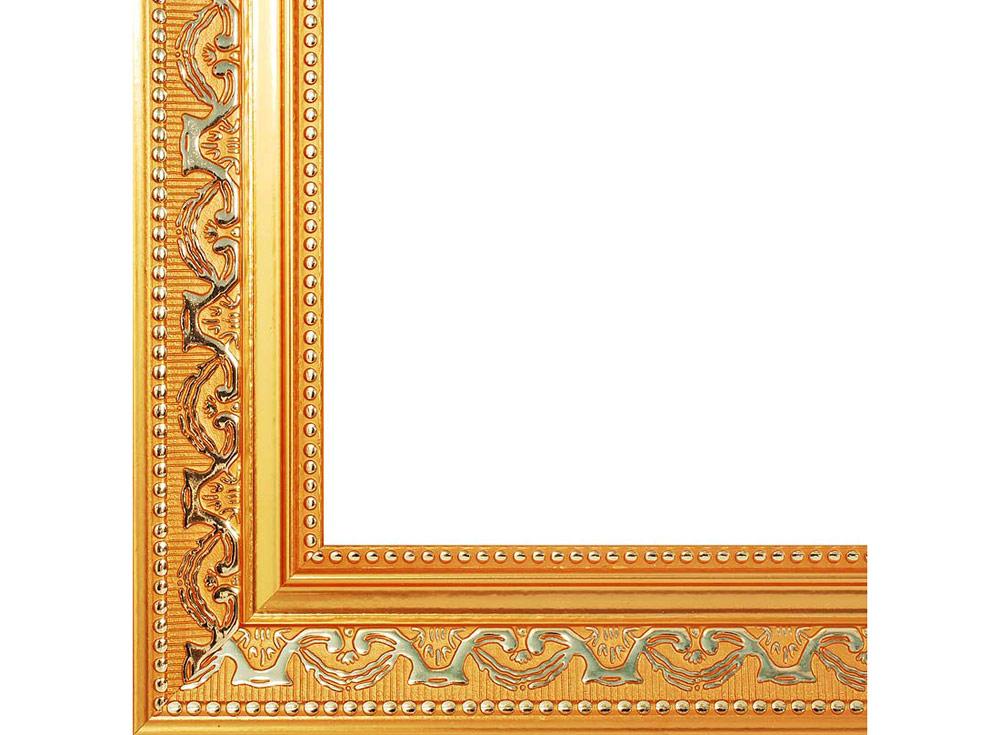 Рамка для картин «Baroque»Багетные рамки<br><br><br>Артикул: 1520-BL<br>Размер: 30x40 см<br>Цвет: Золото<br>Ширина: 45<br>Материал багета: Пластик