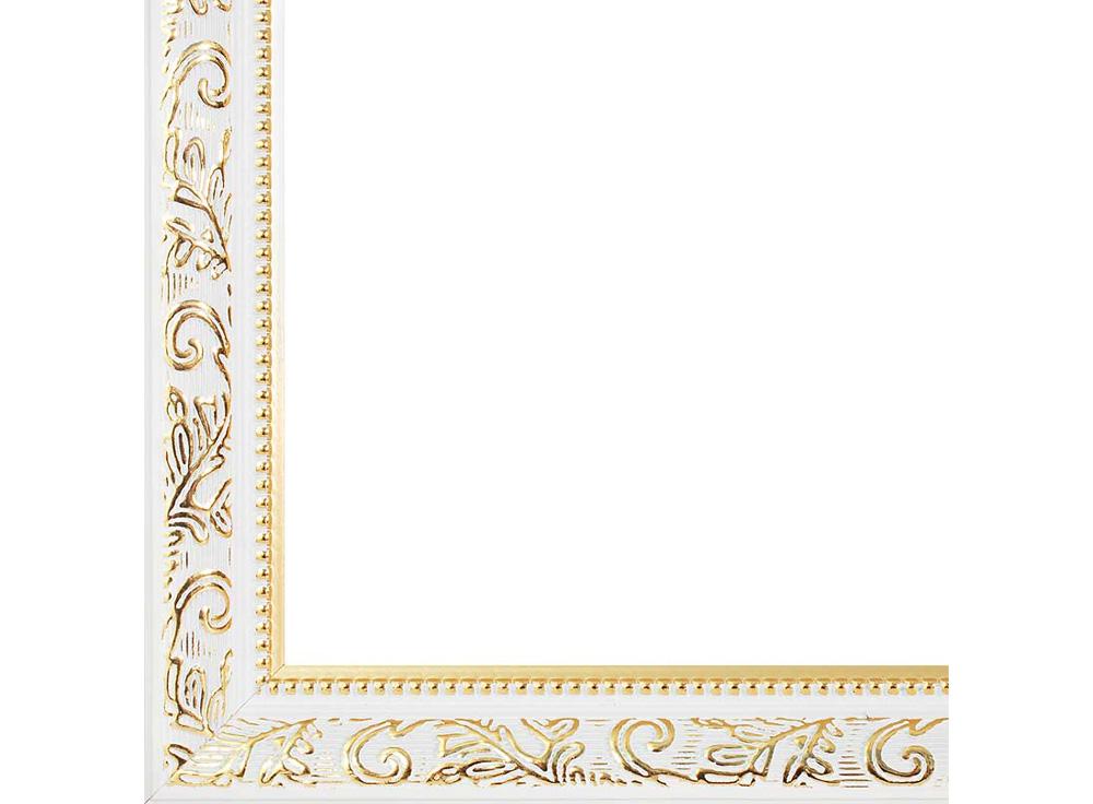 Рамка для картин «Empire»Багетные рамки<br><br><br>Артикул: 1535-BL<br>Размер: 30x40 см<br>Цвет: Белый<br>Ширина: 28<br>Материал багета: Дерево