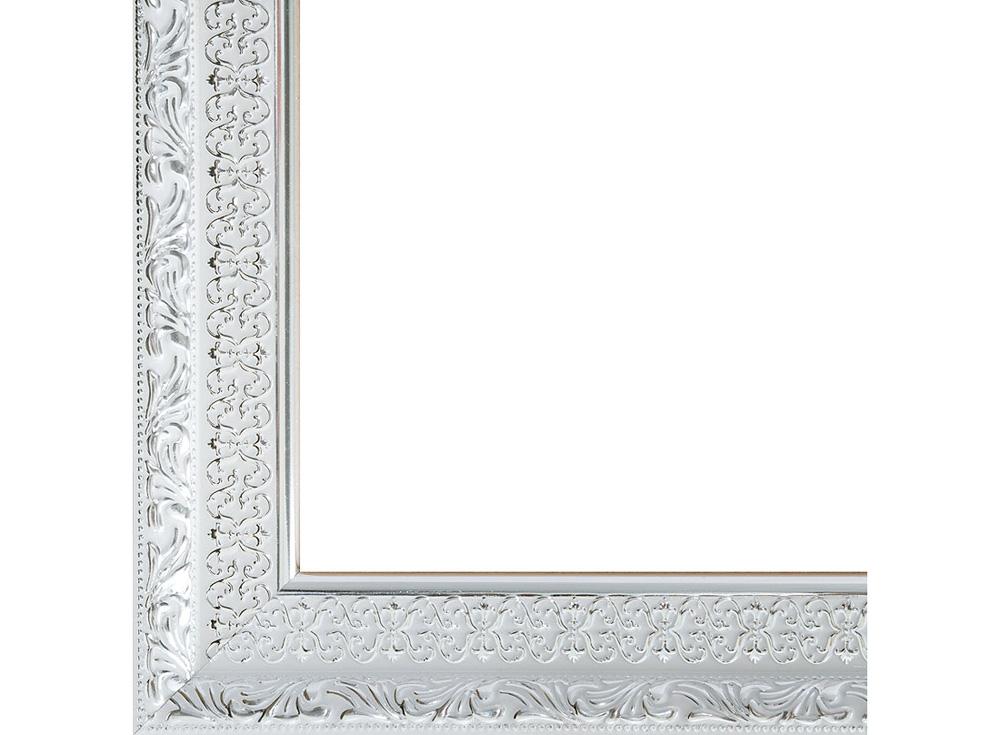 Рамка для картин «Anna»Багетные рамки<br><br><br>Артикул: 2071-BB<br>Размер: 40x50 см<br>Цвет: Серебро<br>Материал багета: Пластик<br>Глубина багета: 6 мм