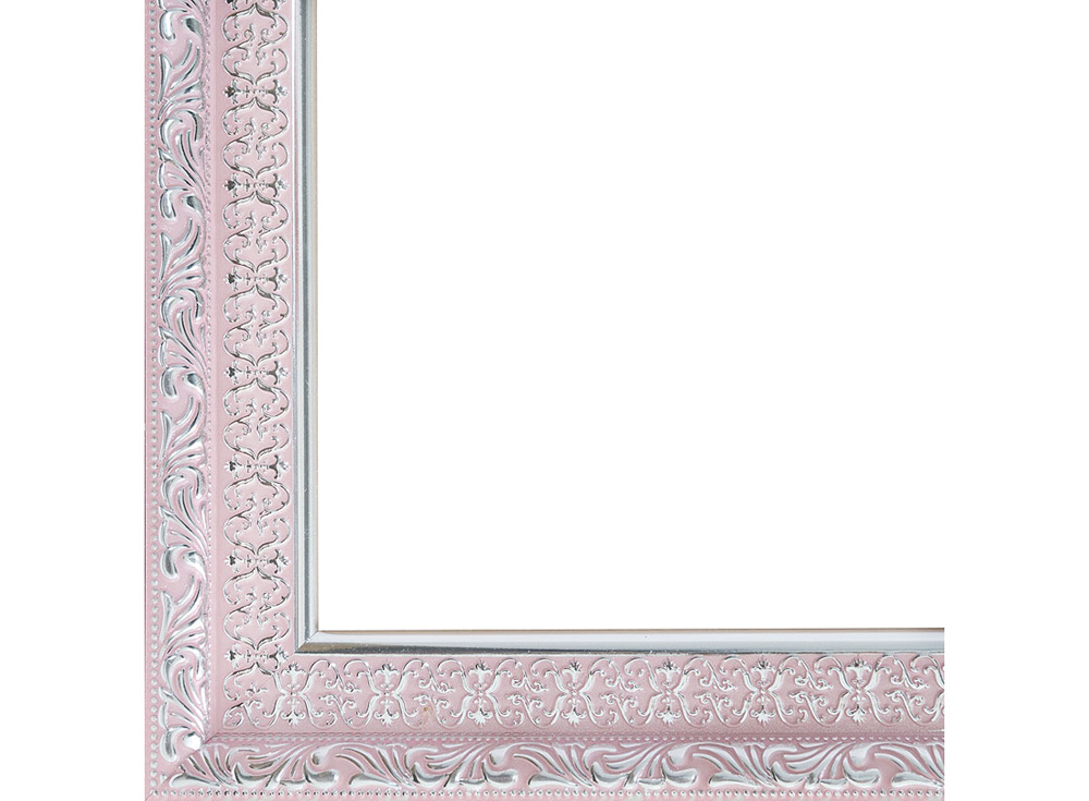 Рамка для картин «Anna»Багетные рамки<br><br><br>Артикул: 2074-BB<br>Размер: 40x50 см<br>Цвет: Розовый<br>Материал багета: Пластик<br>Глубина багета: 6 мм