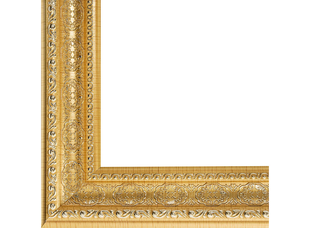 Рамка для картин «Alice»Багетные рамки<br><br><br>Артикул: 2210-BB<br>Размер: 40x50 см<br>Цвет: Золото<br>Материал багета: Пластик<br>Глубина багета: 7 мм