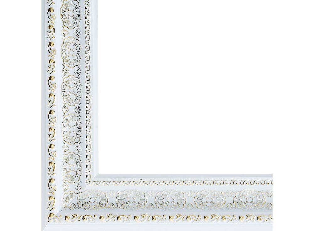 Рамка для картин «Alice»Багетные рамки<br><br><br>Артикул: 2211-BB<br>Размер: 40x50 см<br>Цвет: Серебро<br>Материал багета: Пластик