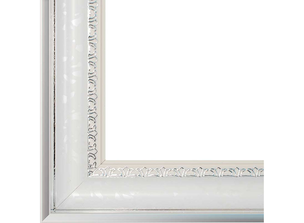 Рамка для картин «Modern»Багетные рамки<br><br><br>Артикул: 2555-BB<br>Размер: 40x50 см<br>Цвет: Белый<br>Ширина: 47<br>Материал багета: Пластик