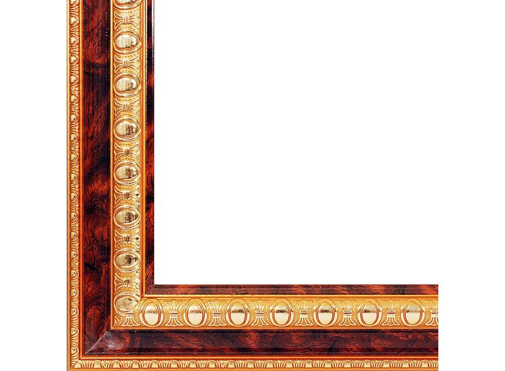 Рамка для картин «Renaissance»Багетные рамки<br>Каждая картина по номерам должна быть завершена, и последним завершающим штрихом служит обрамление шедевра в багет. Чтобы не тратить время на поиск и посещение хорошей багетной мастерской, мы расширили ассортимент наших товаров и услуг, и теперь у нас мож...<br><br>Артикул: 2562-BB<br>Размер: 40x50 см<br>Цвет: Коричневый<br>Ширина: 46<br>Материал багета: Пластик<br>Глубина багета: 7 мм