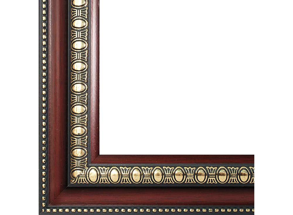 Рамка для картин «Renaissance»Багетные рамки<br><br><br>Артикул: 2563-BB<br>Размер: 40x50 см<br>Цвет: Коричневый<br>Ширина: 46<br>Материал багета: Пластик