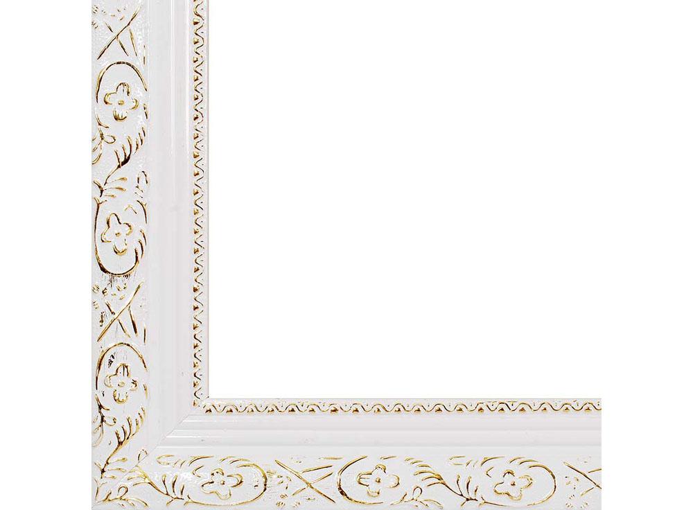 Рамка для картин «Antique»Багетные рамки<br><br><br>Артикул: 2575-BB<br>Размер: 40x50 см<br>Цвет: Белый<br>Ширина: 41<br>Материал багета: Пластик