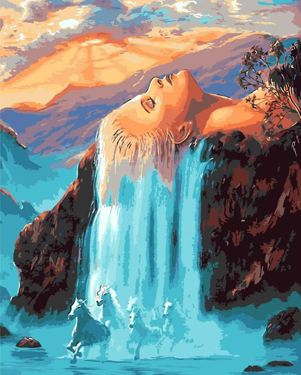 Картина по номерам «Мечта на острове» Джима Уоррена ...