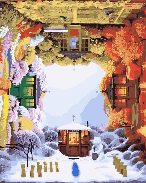 """«Времена года» Яцека ЙеркиMenglei (Premium)<br>Сюрреализм Яцека Йерки удивителен и очень притягателен. Его сюжеты заставляют размышлять, изумительные композиции наполнены философским смыслом и нестандартностью. Картина """"Времена года"""" вместила в себе невероятно объемное по смыслу представление Яцека Йе...<br><br>Артикул: MG321<br>Основа: Холст<br>Сложность: очень сложные<br>Размер: 40x50 см<br>Количество цветов: 45<br>Техника рисования: Без смешивания красок"""