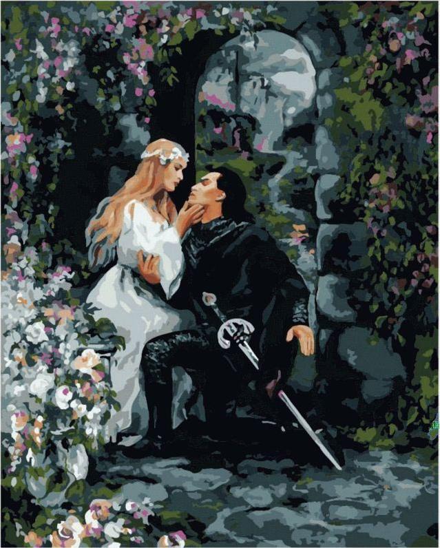 «Тайное свидание»Menglei (Premium)<br><br><br>Артикул: MG135<br>Основа: Холст<br>Сложность: сложные<br>Размер: 40x50 см<br>Количество цветов: 25<br>Техника рисовани: Без смешивани красок