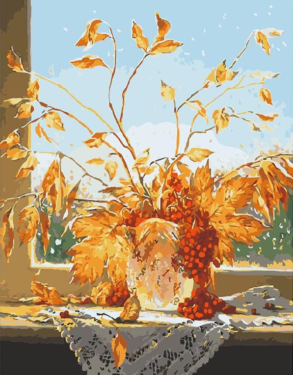 Картина по номерам «Икебана» Михаила ИваненкоMenglei (Premium)<br><br><br>Артикул: MG290<br>Основа: Холст<br>Сложность: сложные<br>Размер: 40x50 см<br>Количество цветов: 28<br>Техника рисования: Без смешивания красок