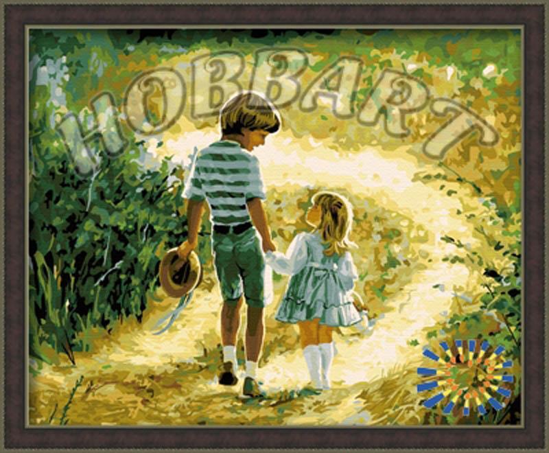 «Счастливое детство» Дональда ЗоланаHobbart<br><br><br>Артикул: HB4050131<br>Основа: Холст<br>Сложность: средние<br>Размер: 40x50 см<br>Количество цветов: 26<br>Техника рисования: Без смешивания красок