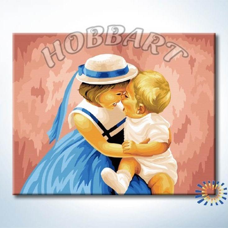 «Счастливый момент» Дональда ЗоланаHobbart<br><br><br>Артикул: HB4050263<br>Основа: Холст<br>Сложность: сложные<br>Размер: 40x50 см<br>Количество цветов: 25<br>Техника рисования: Без смешивания красок