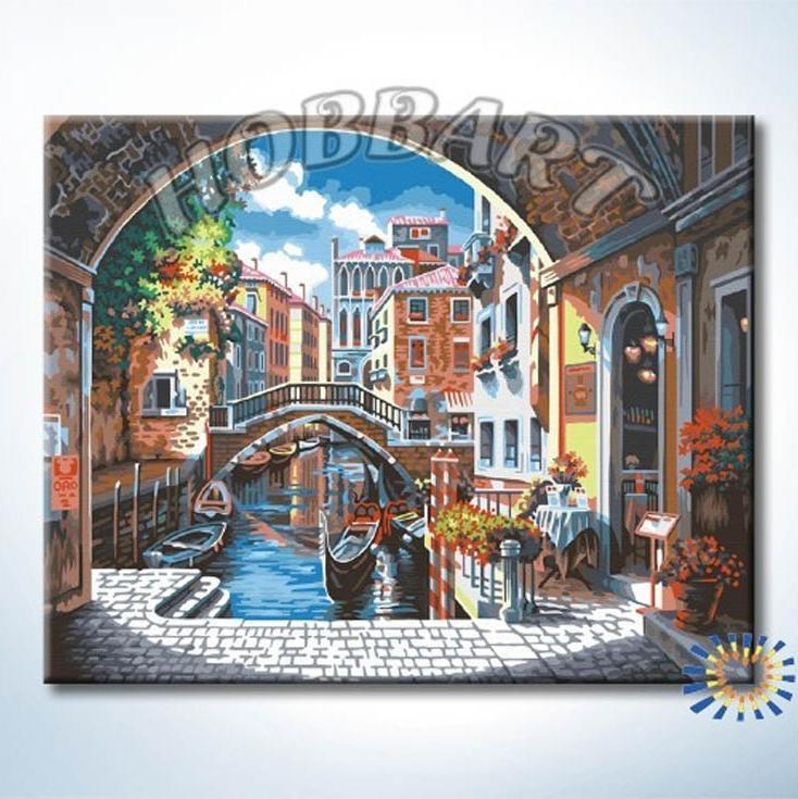 «Венецианская классика»Hobbart<br><br><br>Артикул: HB4050337<br>Основа: Холст<br>Сложность: сложные<br>Размер: 40x50 см<br>Количество цветов: 25<br>Техника рисования: Без смешивания красок
