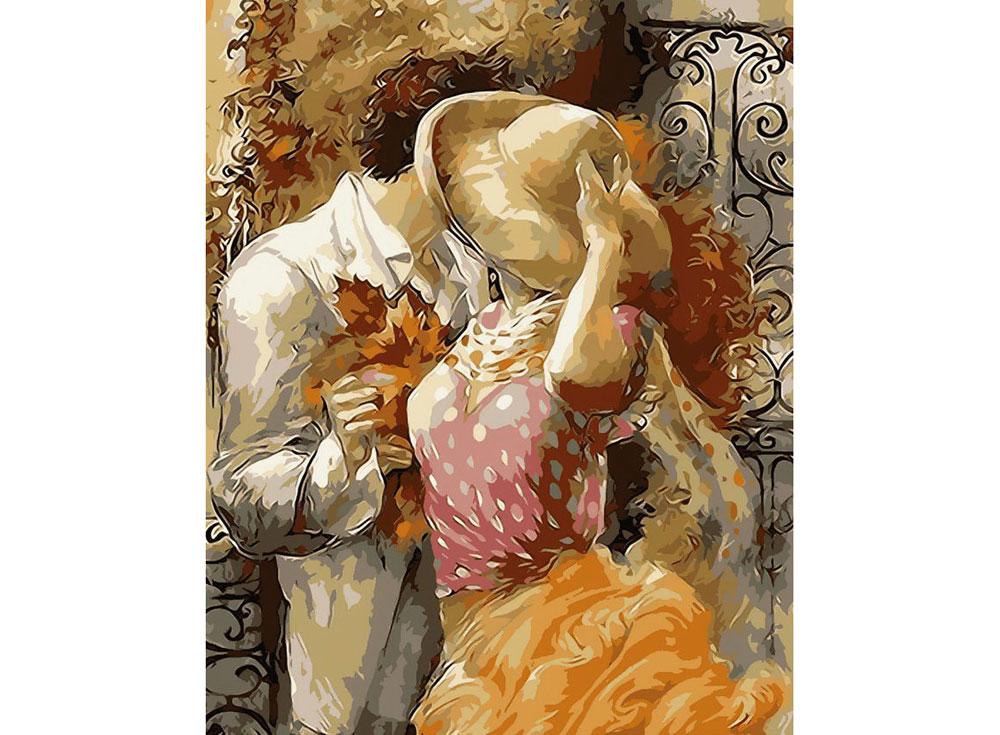 Картина по номерам «Осенний поцелуй» Лены СотсковойPaintboy (Premium)<br><br>