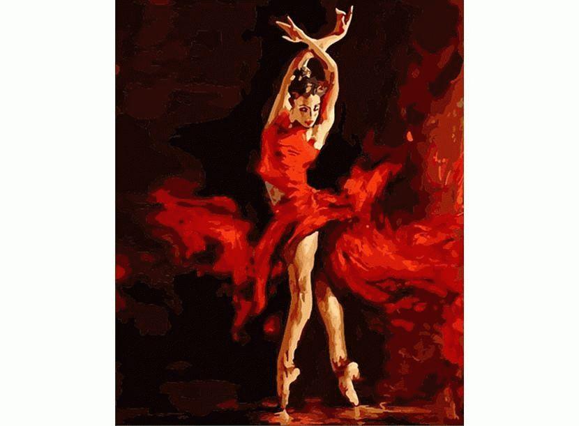 «Огненный танец» Андре АтрошенкоMenglei (Premium)<br>Огненный характер, грациозное вдохновение и восторженна красота - все то о прекрасной девушке, образ которой мастерски создал Андрей Атрошенко. Картина наполнена динамичной силой, огонь -  в движении, в цветовой гамме и даже в стиле одежды. Эта картина ...<br><br>Артикул: MG523<br>Основа: Холст<br>Сложность: сложные<br>Размер: 40x50 см<br>Количество цветов: 30<br>Техника рисовани: Без смешивани красок