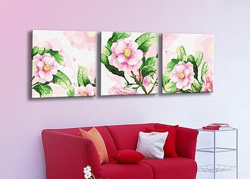 «Розова камели»Menglei (Premium)<br><br><br>Артикул: MN3006<br>Основа: Холст<br>Сложность: средние<br>Размер: 3 шт. 40x40 см<br>Количество цветов: 21<br>Техника рисовани: Без смешивани красок