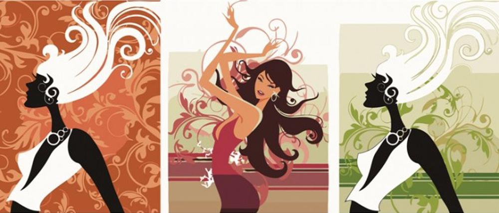 Картина по номерам «Модница»Menglei (Premium)<br><br><br>Артикул: MX3002<br>Основа: Холст<br>Сложность: сложные<br>Размер: 3 шт. 40x50 см<br>Количество цветов: 23<br>Техника рисования: Без смешивания красок