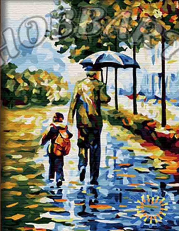 Картина по номерам «С папой» Леонида АфремоваHobbart<br>Картины по номерам купить недорого сейчас очень просто. Но подбор сюжета – дело важное, и ему нужно уделить достаточно внимания, ведь раскраска должна стать источником вдохновения и радости. Вечная тема, которая всегда коснется сердца – это любовь. Страст...<br><br>Артикул: HB3040085<br>Основа: Холст<br>Сложность: легкие<br>Размер: 30x40 см<br>Количество цветов: 24<br>Техника рисования: Без смешивания красок