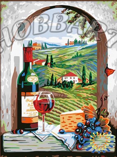 «Итальнские каникулы»Hobbart<br><br><br>Артикул: HB3040149<br>Основа: Холст<br>Сложность: средние<br>Размер: 30x40 см<br>Количество цветов: 22<br>Техника рисовани: Без смешивани красок