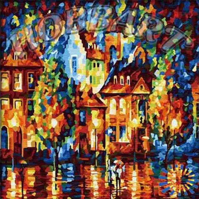 «Амстердам» Леонида АфремоваHobbart<br><br><br>Артикул: HB4040030<br>Основа: Холст<br>Сложность: сложные<br>Размер: 40x40 см<br>Количество цветов: 30<br>Техника рисования: Без смешивания красок