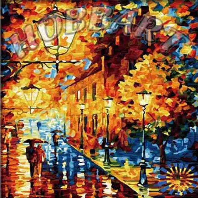 «Огни в ночи» Леонида АфремоваHobbart<br><br><br>Артикул: HB4040031<br>Основа: Холст<br>Сложность: сложные<br>Размер: 40x40 см<br>Количество цветов: 30<br>Техника рисования: Без смешивания красок