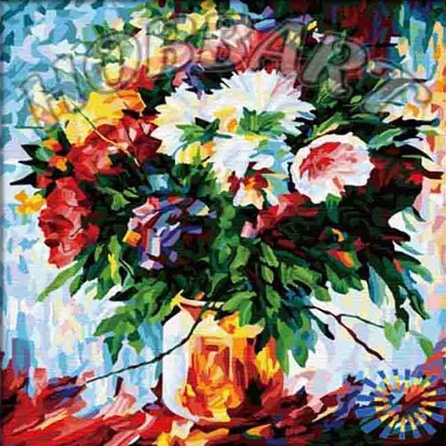 «Великолепие»Hobbart<br><br><br>Артикул: HB4040036<br>Основа: Холст<br>Сложность: средние<br>Размер: 40x40 см<br>Количество цветов: 30<br>Техника рисования: Без смешивания красок