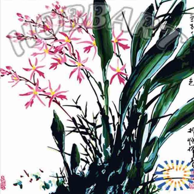 «Орхидеи. Китайской тушью»Hobbart<br><br><br>Артикул: HB4040039<br>Основа: Холст<br>Сложность: легкие<br>Размер: 40x40<br>Количество цветов: 20<br>Техника рисования: Без смешивания красок