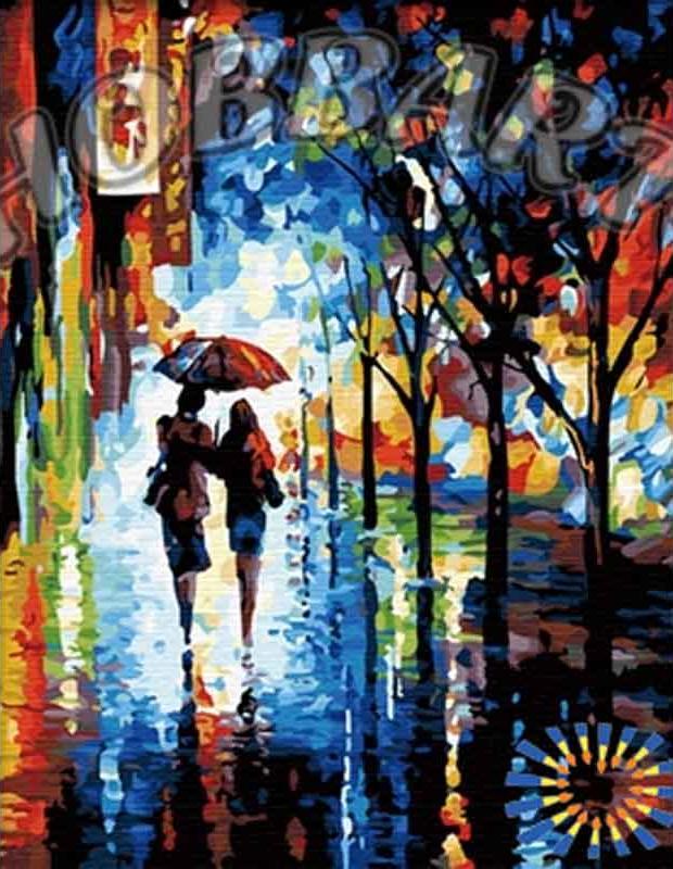 «Под дождем» Леонида АфремоваHobbart<br><br><br>Артикул: HB4050113<br>Основа: Холст<br>Сложность: сложные<br>Размер: 40x50 см<br>Количество цветов: 28<br>Техника рисования: Без смешивания красок