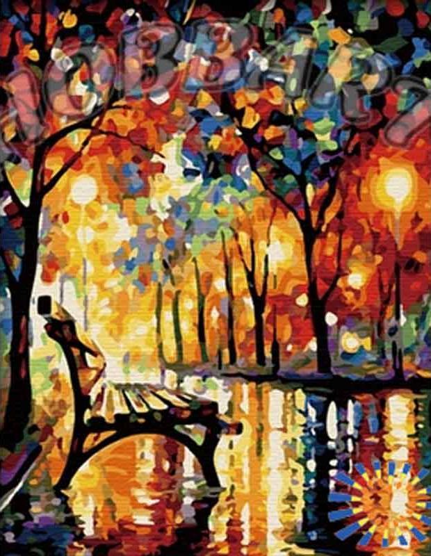 Картина по номерам «Тихим вечером» Леонида АфремоваHobbart<br><br><br>Артикул: HB4050120<br>Основа: Холст<br>Сложность: сложные<br>Размер: 40x50 см<br>Количество цветов: 25<br>Техника рисования: Без смешивания красок
