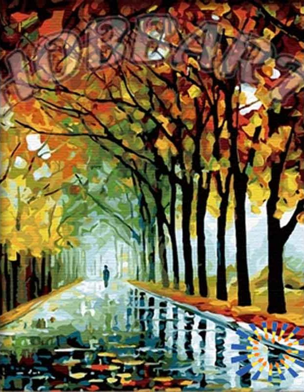 Картина по номерам «След осени» Леонида АфремоваHobbart<br><br><br>Артикул: HB4050127<br>Основа: Холст<br>Сложность: сложные<br>Размер: 40x50 см<br>Количество цветов: 30<br>Техника рисования: Без смешивания красок