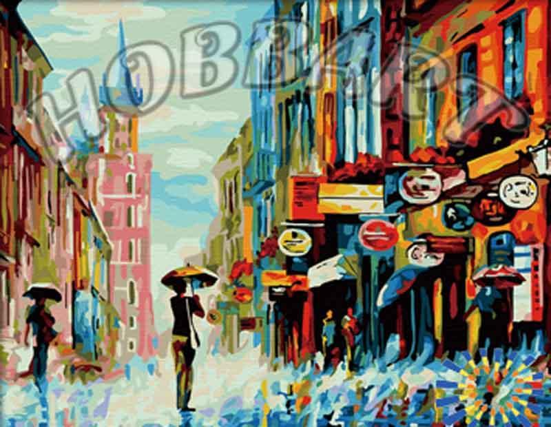 «Ливень» Леонида АфремоваHobbart<br><br><br>Артикул: HB4050129<br>Основа: Холст<br>Сложность: сложные<br>Размер: 40x50 см<br>Количество цветов: 30<br>Техника рисования: Без смешивания красок